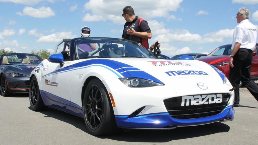 2017 Mazda Global MX-5 Cup Race Car: First Drive Video