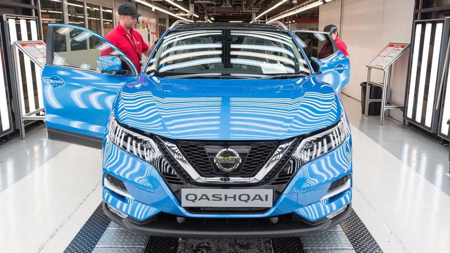 Nissan Qashqai  - Produção