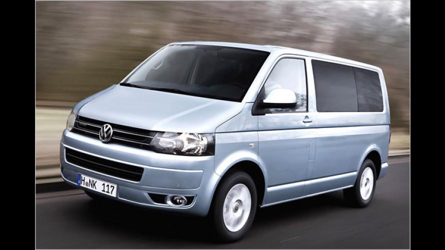 Spritsparvariante auch für den VW Multivan