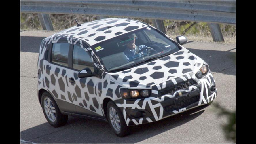Erwischt: Hier fährt der neue Chevrolet Aveo