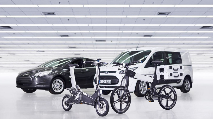 Ford unveils the MoDe:Me & MoDe:Pro e-bikes [video]