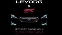 Subaru Levorg STI teaser
