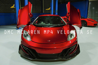 DMC McLaren MP4 Velocita SE: Sexy Insanity on Wheels