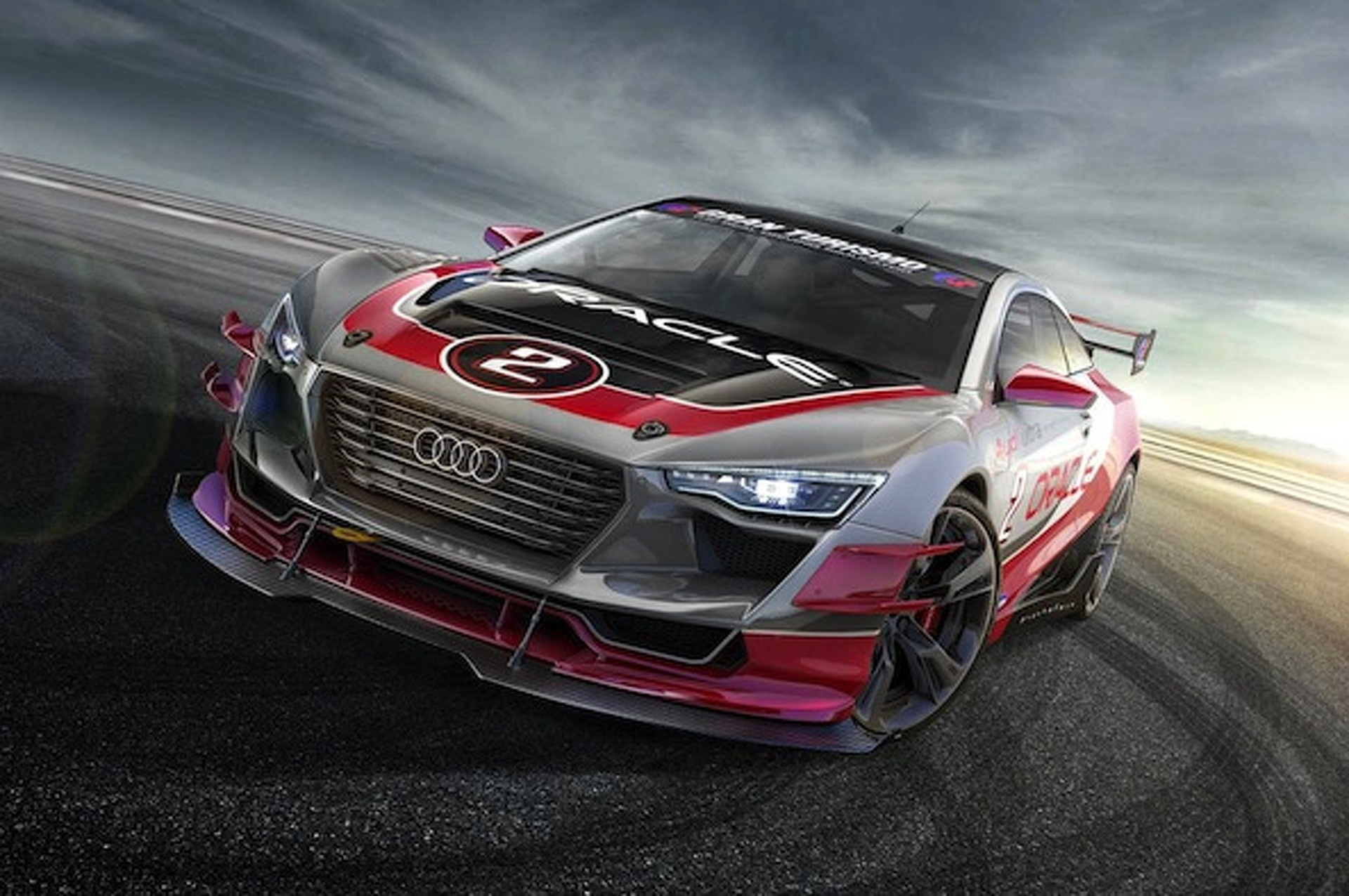 Audi R4 Concept Coupe is So Pretty It Hurts