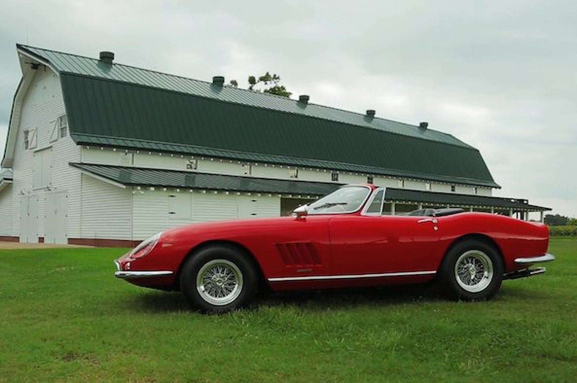 One of Ten Ferrari 275 GTB/4*S Given Final Sendoff
