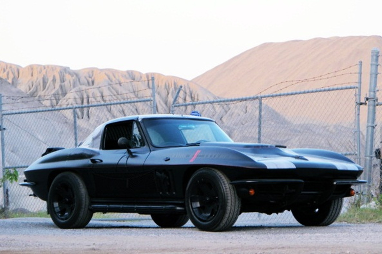 This Crazy Mad Max Corvette is on eBay Right Now