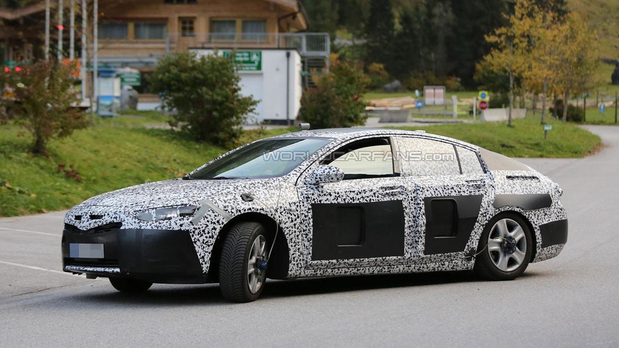 2017 Opel Insignia shows it sleeker shape in latest spy photos