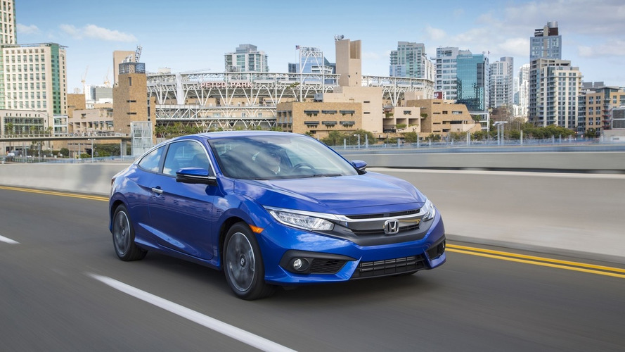 2016 Honda Civic Coupe priced from $19,050