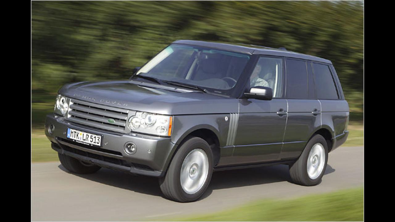Land Rover Range Rover TDV8 Autobiography DPF