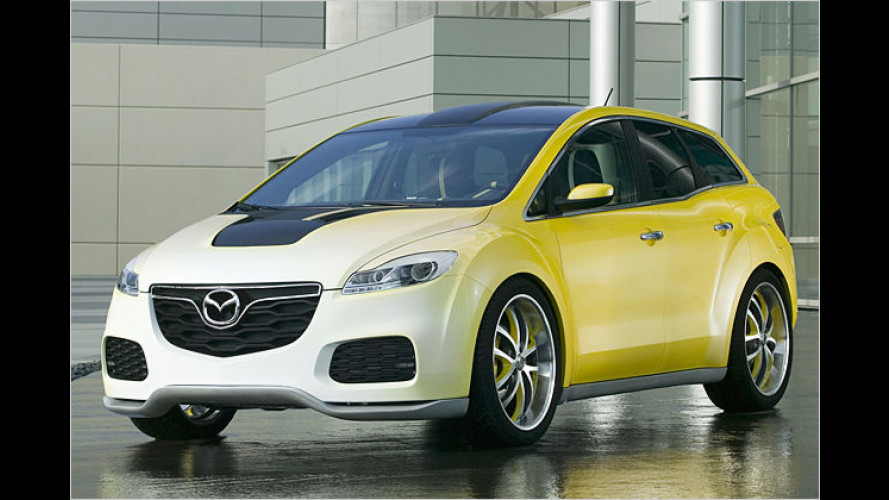 Prototyp CX-7 Adrenalin: SUV mit Sportwagenambitionen