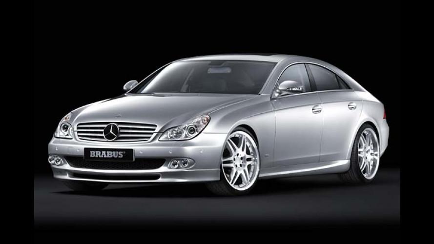 Scharf gemacht: Brabus tunt den neuen Mercedes CLS