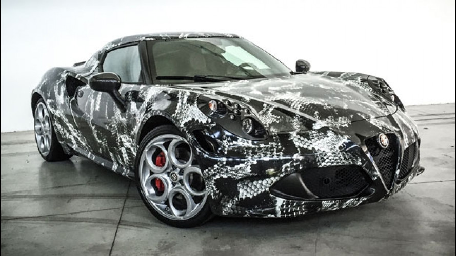 Alfa Romeo 4C Deadly Snake, velenosa secondo Lapo