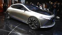 Mercedes-Benz EQ A Concept live in Frankfurt