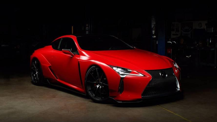 Un nouveau moteur V8 de 630 ch pour la Lexus LC F ?