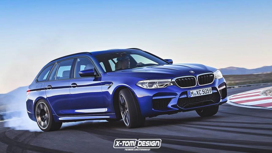 BMW M5 Touring - render