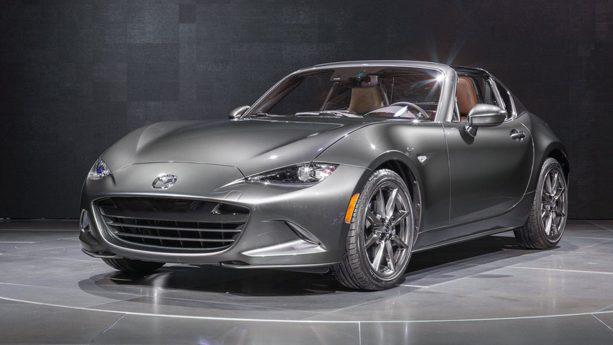 2017 mazda mx 5 miata rf to get limited run launch edition. Black Bedroom Furniture Sets. Home Design Ideas