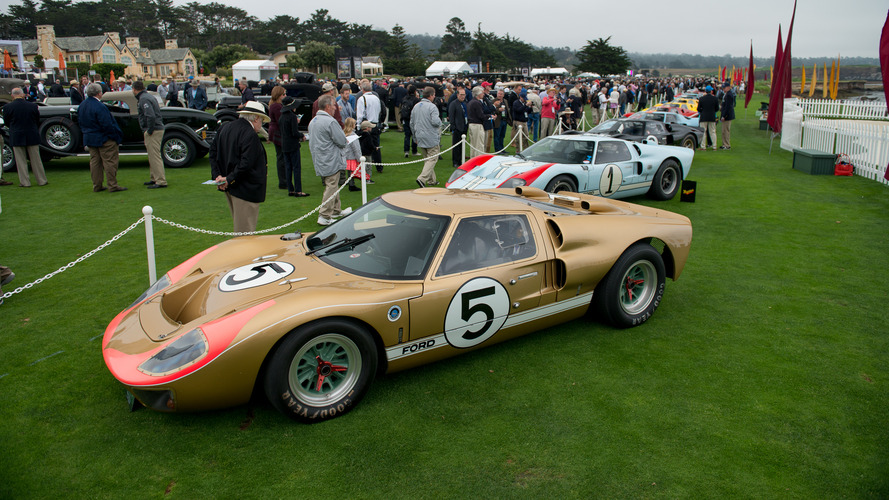 Pebble Beach 2016 - Photos des 16 exemplaires de la mythique Ford GT40 !