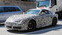 Toyota Supra makes long-awaited spy photo debut