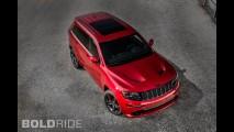 Jeep Grand Cherokee SRT Red Vapor