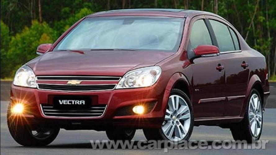 Vectra Next Edition 2010 - Chevrolet divulga a primeira imagem oficial