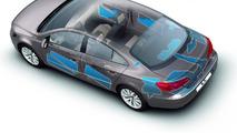 2012 Volkswagen CC facelift - Improved soundproofing body design area