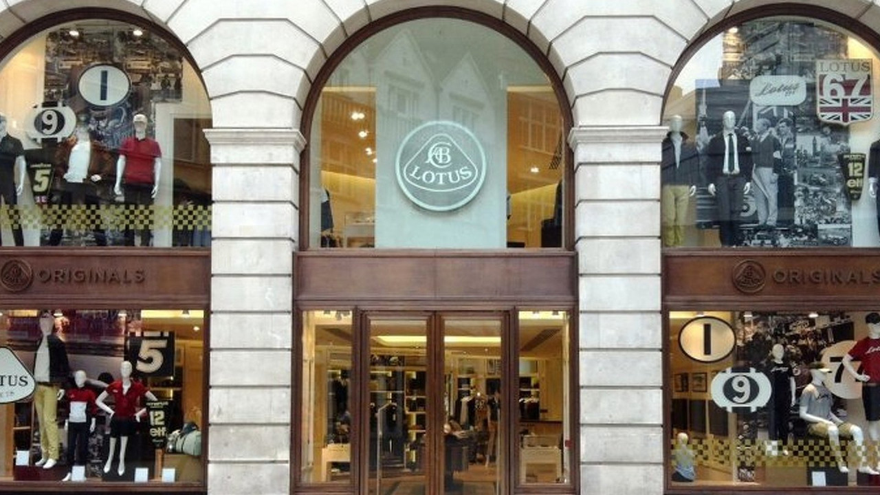 Lotus store in London