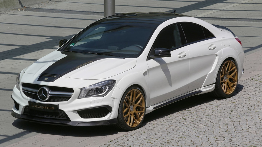 Mercedes CLA 45 AMG gets more power and wide body from Lowenstein