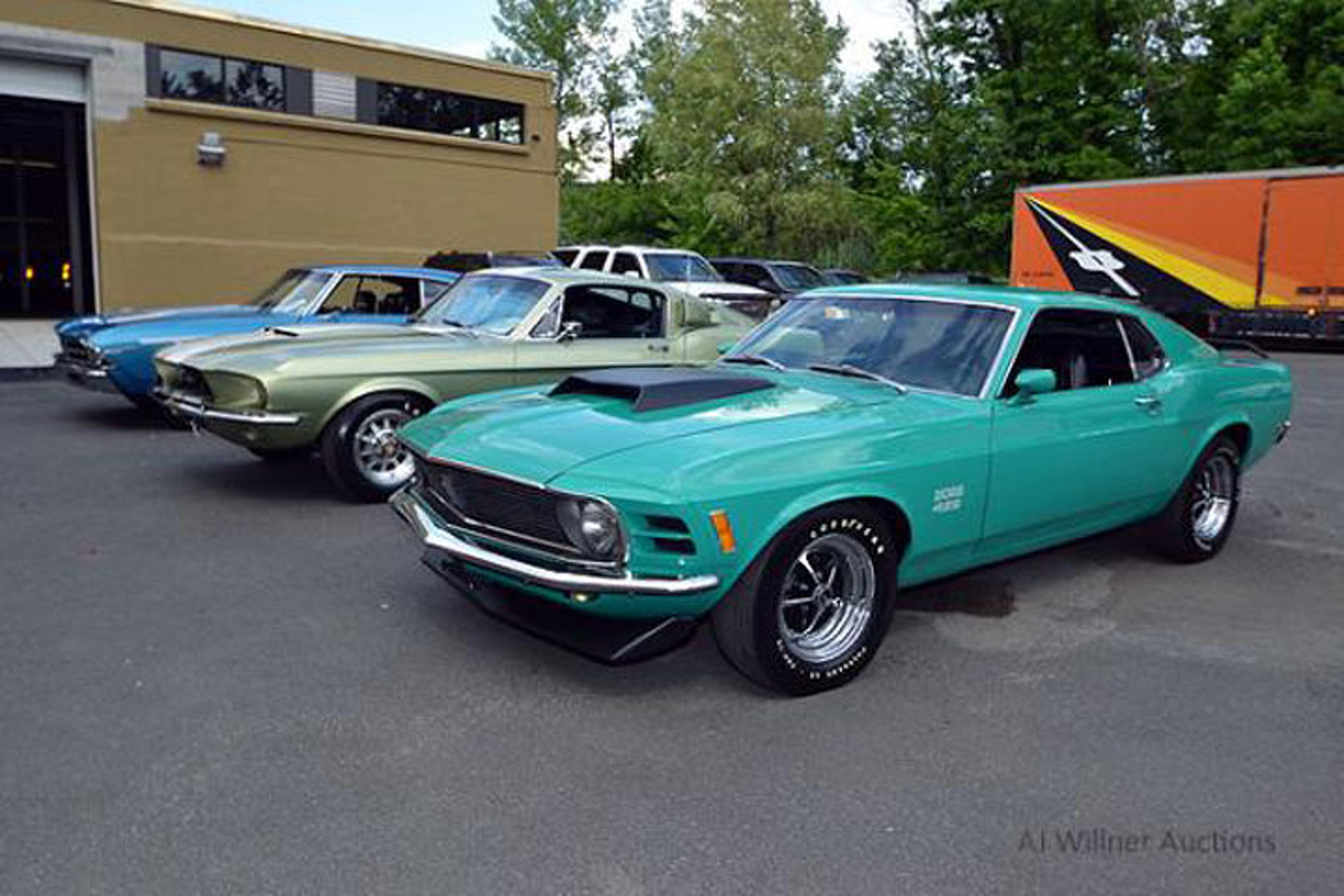 Marshals Auctioning Off Rare Muscle Car Collection, Including a ...