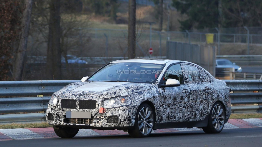 BMW 1-Series sedan tackles the Nurburgring for the first time