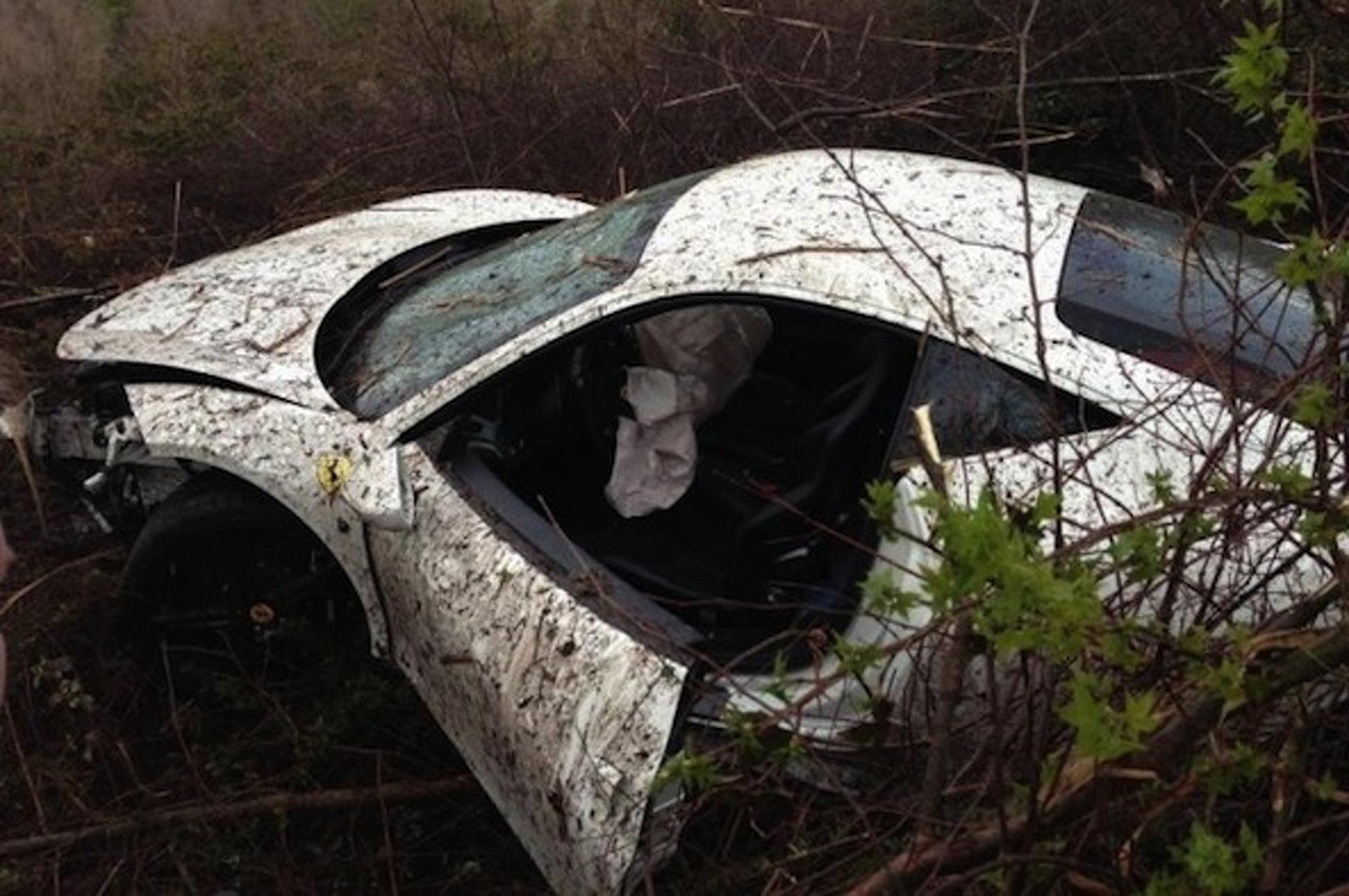 Underground Racing Ferrari 458 Wrecked at Amelia Island Airport