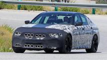 2018 BMW M5 spy photos