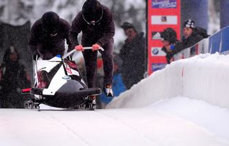 BMW-Designed Team USA Bobsleds: Focus on Aero, Carbon Fiber