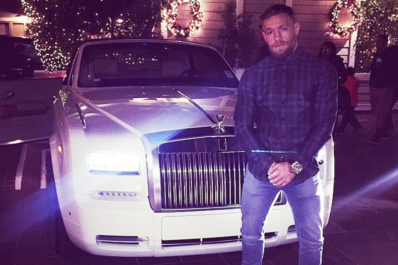 Check Out UFC-Winner Conor McGregor's New Rolls-Royce