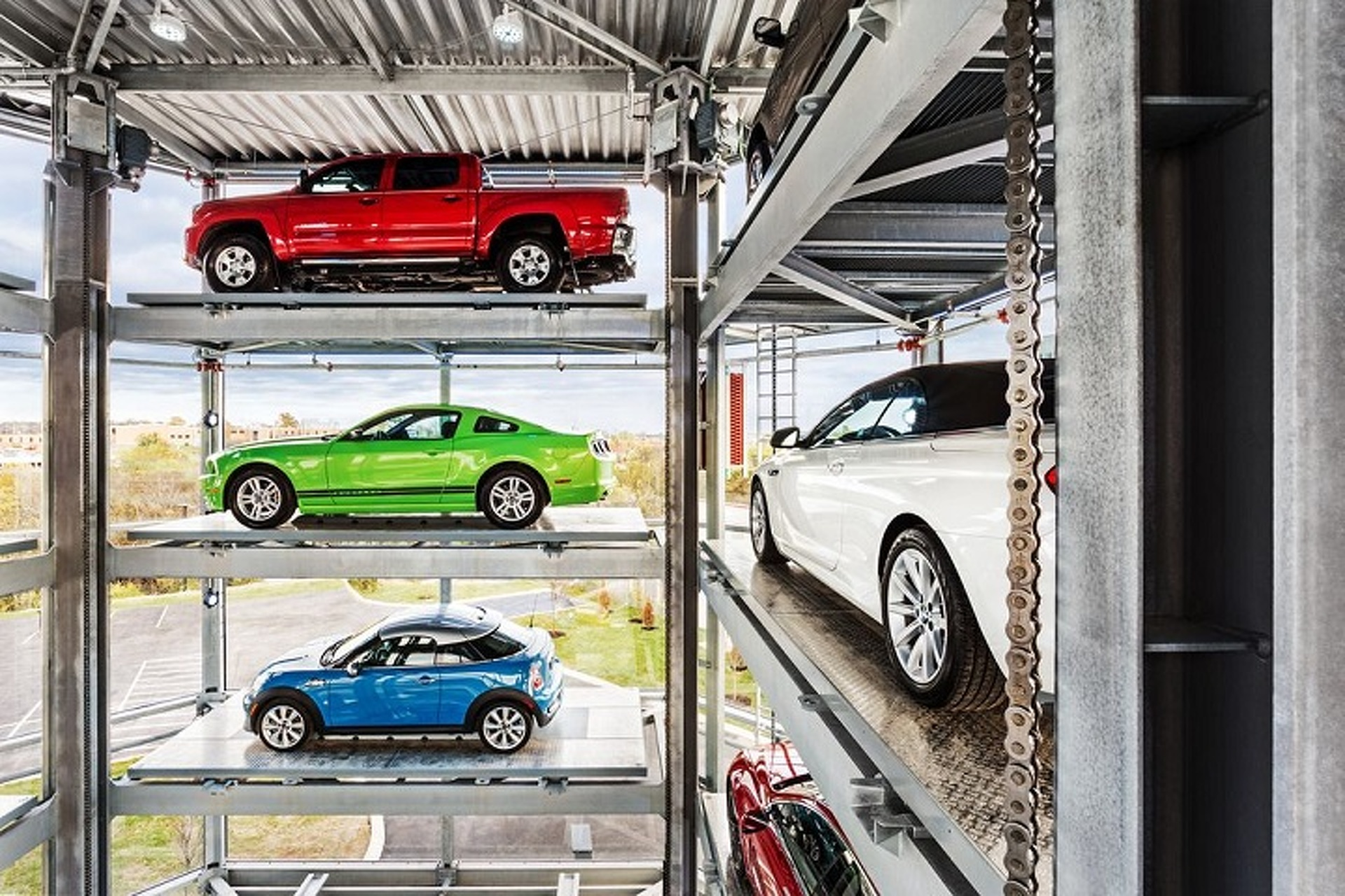 Watch This Car Vending Machine Deliver Your Vehicle Like a Snack