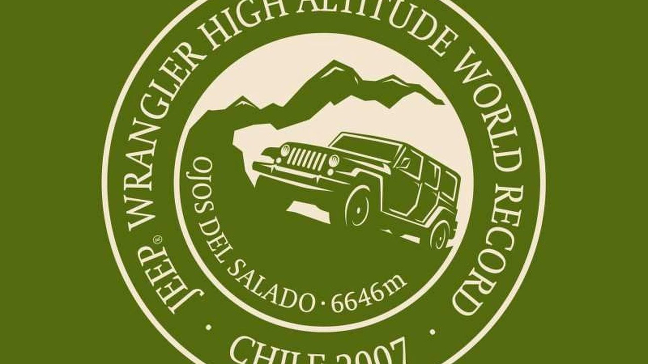 Jeep Wrangler Unlimited Sets Altitude Record Logo