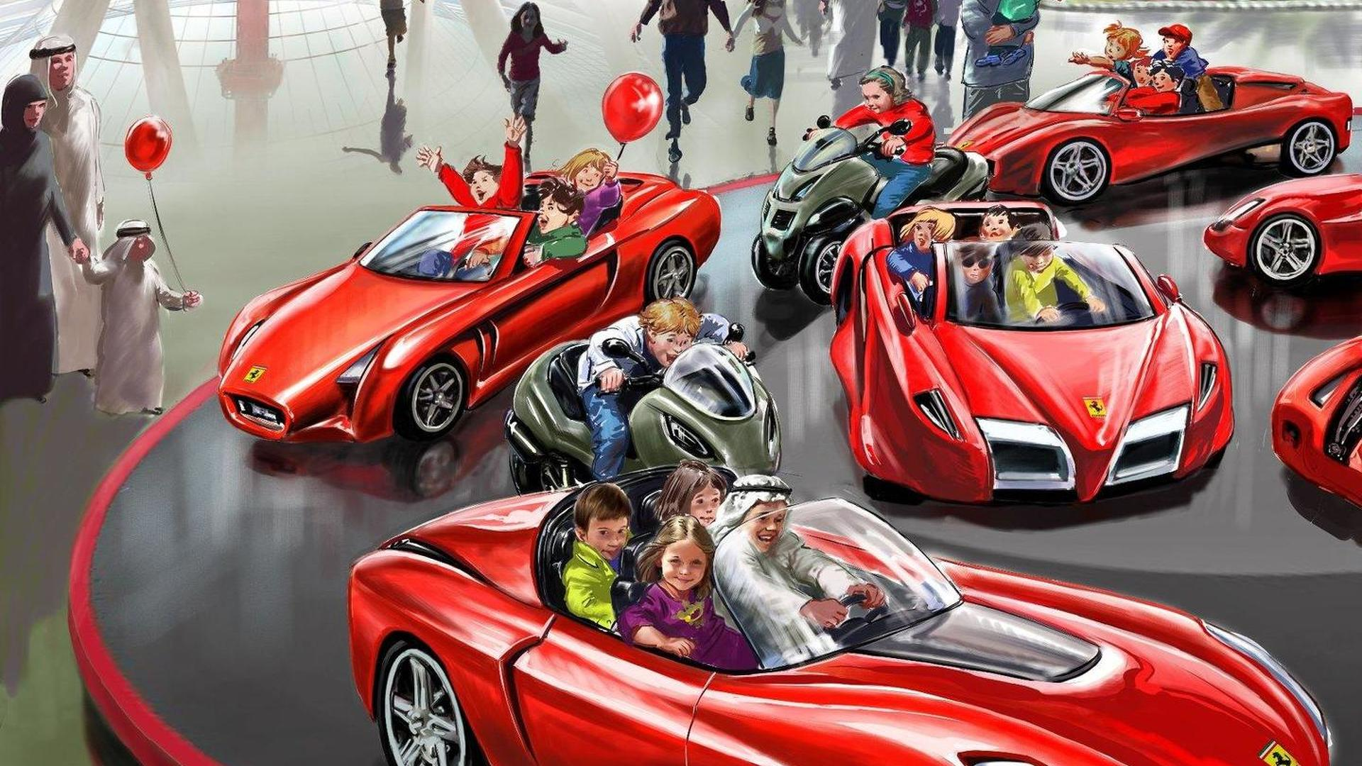 roller i ferrari coaster to dating img dubai park with theme fastest in came world the index