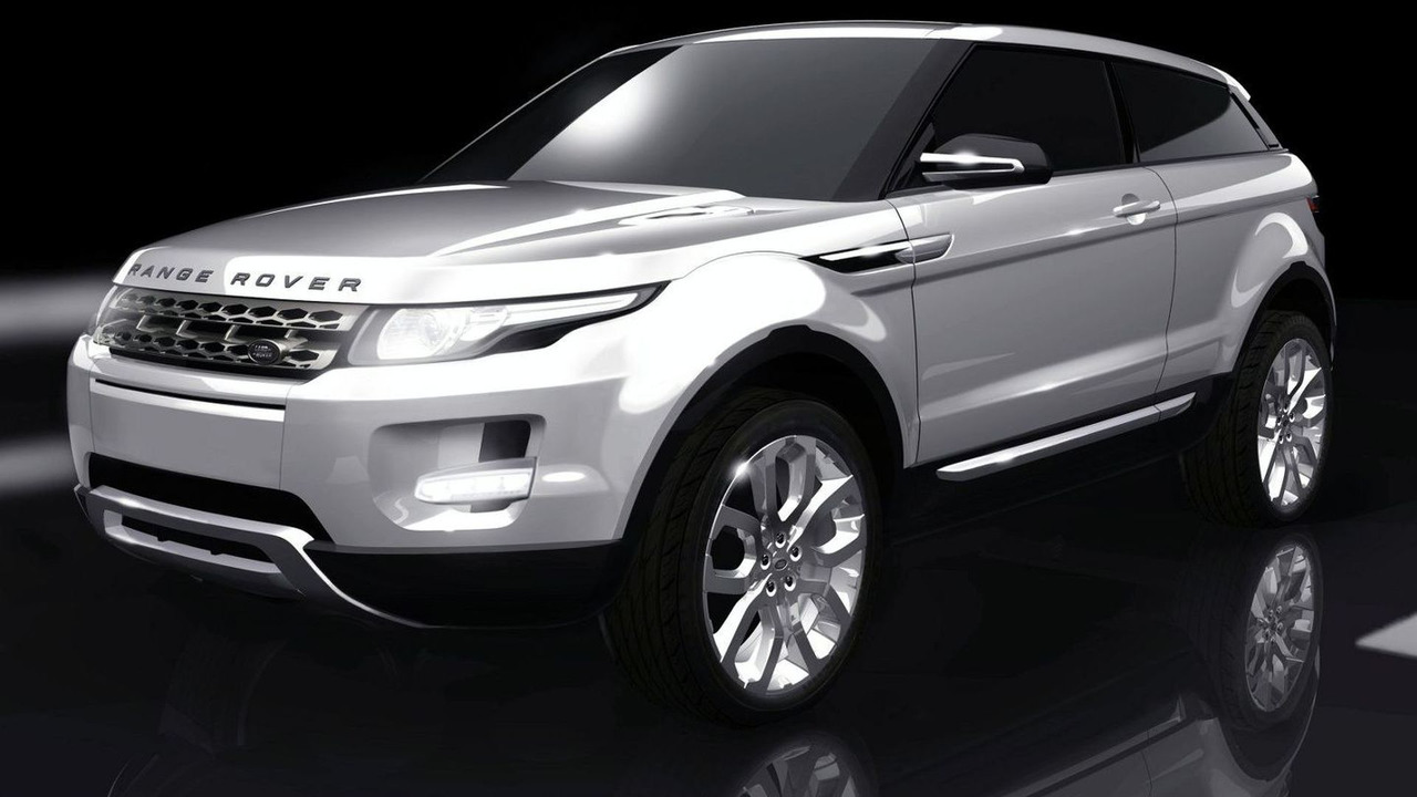 Land Rover LRX design drawing - 1600