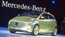 Mercedes BlueZero Concept at 2009 Detroit Auto Show