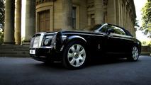 Rolls Royce Drophead Coupe with Kahn Dark Mist wheels