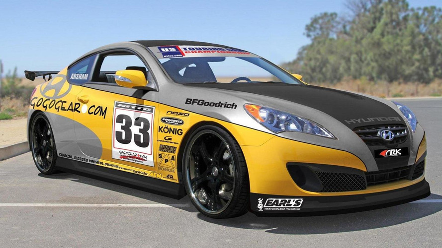 Gogogear Racing Hyundai Genesis Coupe for SEMA previewed