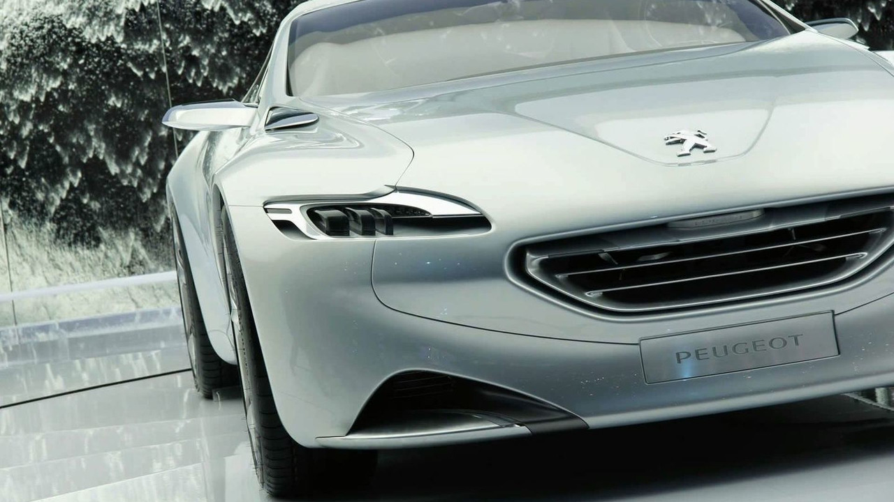 Peugeot SR1 Concept Car in Geneva