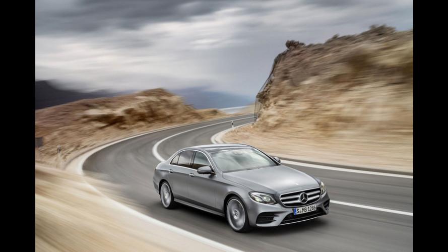 Nuova Mercedes Classe E, le prime foto
