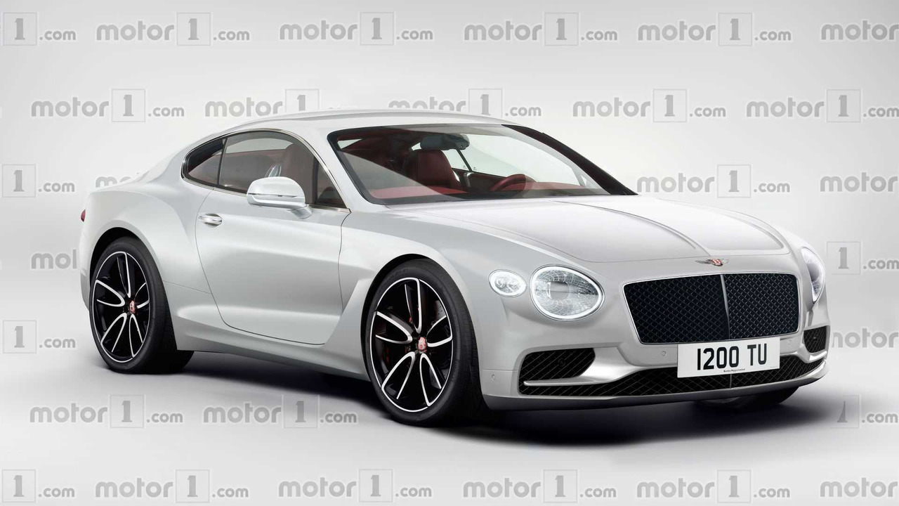 2018 Bentley Continental GT render