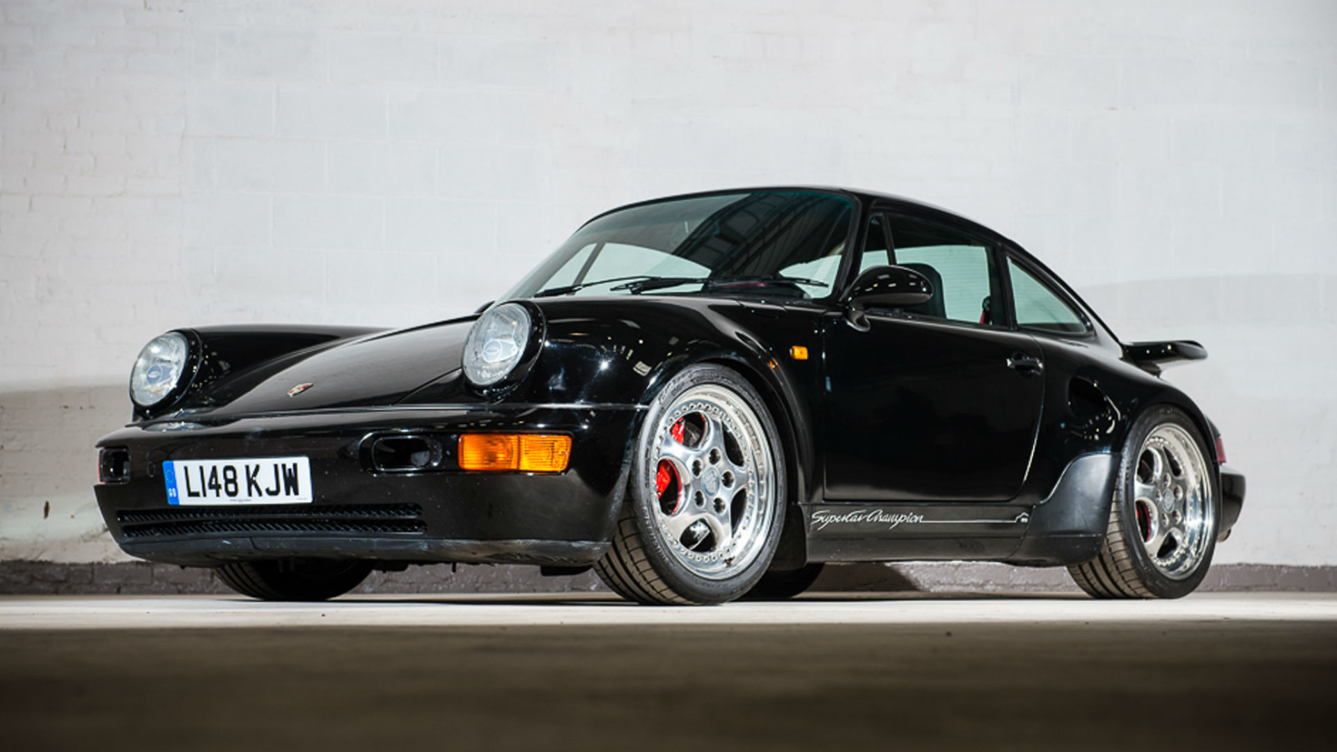rare porsche 911 leichtbau for sale has a wonderfully 90s interior. Black Bedroom Furniture Sets. Home Design Ideas