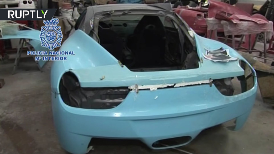 Shop Busted For Selling Fake Ferraris And Lamborghinis In