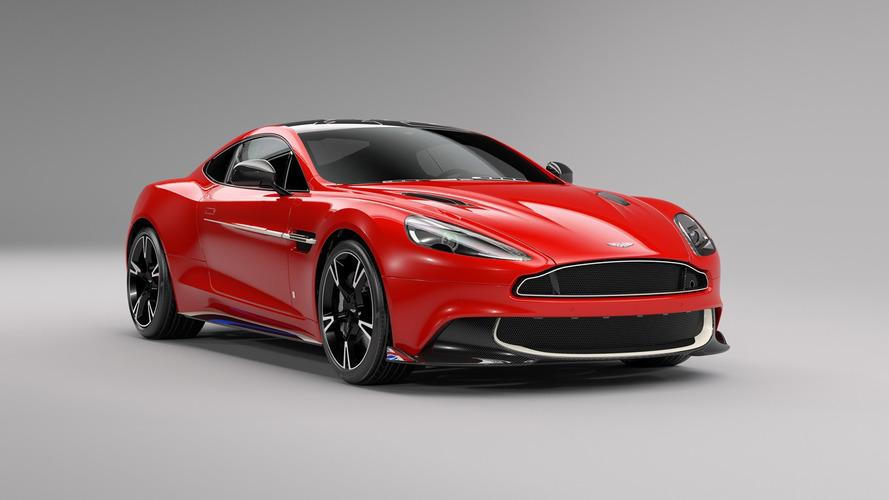 Aston Martin Vanquish S Red Arrows, con los colores de la RAF británica