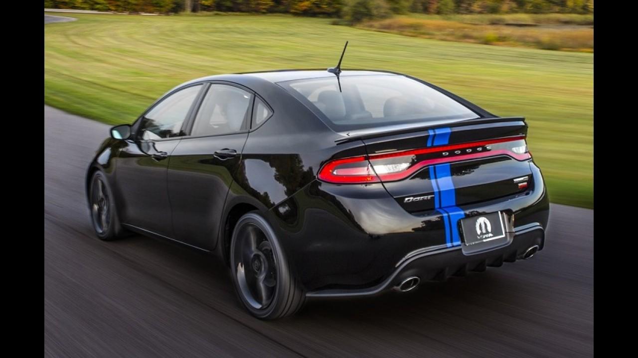 Dodge prepara Dart apimentado com visual esportivo e motor V6 Pentastar