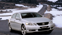New Lexus GS430 in winter conditions