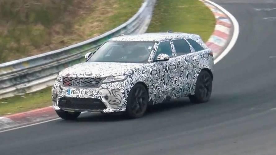 Range Rover Velar SVR Nürburgring'de yakalandı
