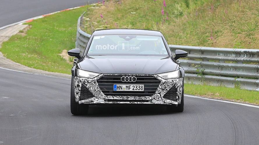 New Audi RS7 Sportback spy photos